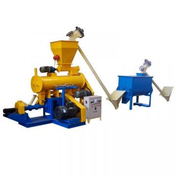 40-50kg/h floating fish feed extruder machine for family use