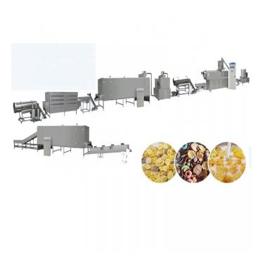 Full Automatic Crispy Corn Flakes Breakfast Cereals Food Making Machine