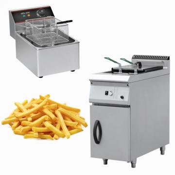 Commercial Two Tanks Electric Snack Fryer Machine Chips Fryer