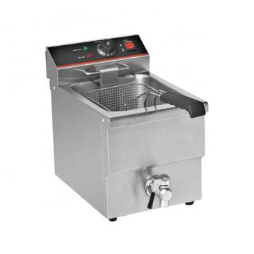 Electric Commercial Meat Nugget Snack Food Frying Machine Deep Chicken Pressure Fryer