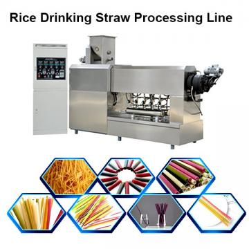 Pp Pe Granule Drinking Straw Extruder , Drinking Straw Making Machine 40kg/H Capcity